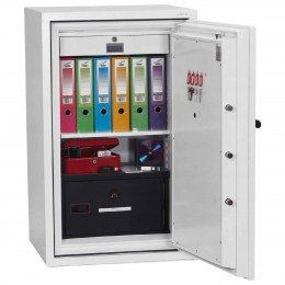 Phoenix DataCombi DS2503K 2 HR Key Lock Fire Data Paper Safe - Interior