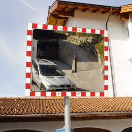 Moravia Durabel 3 Stainless Steel Blind Spot Traffic Mirror 800x1000