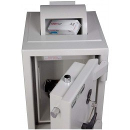 Dudley Europa £60,000 Rotary Drop Security Safe Size 2 - face on