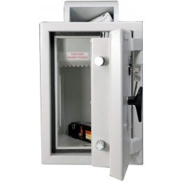 Dudley Europa £10,000 Rotary Deposit Security Safe Size 5 - showing internal baffle