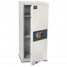 Burton Eurovault Aver S2 6E Police Approved Security Safe ajar