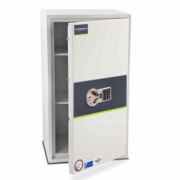 Burton Eurovault Aver 5E Police Approved Security Safe door ajar
