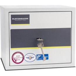 Burton Eurovault Aver 1K Police Approved Security Safe door closed