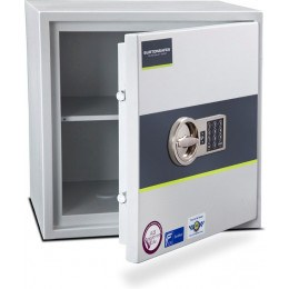 Burton Eurovault Aver 3E Police Approved Security Safe door ajar