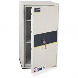 Burton Eurovault Aver 5K Police Approved Security Safe door ajar