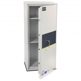 Burton Eurovault Aver 6K Police Approved Security Safe door ajar