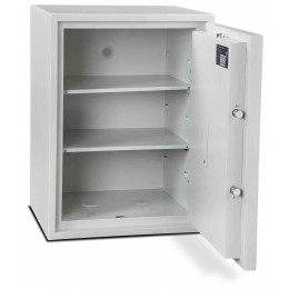 Burton Aver 4K Insurance Approved Key Locking Security Safe - open