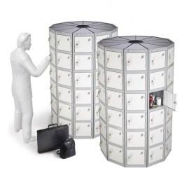 Space Saving Locker - 66 Compartments - Probe POD