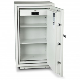 Burton Firebrand XL-1 Electronic Fireproof Security Safe - open door