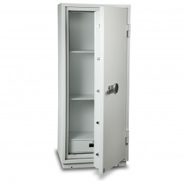 Burton Firebrand XL-3 Electronic Fireproof Security Safe - door ajar