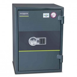 Fire Security Safe £4000 - Burton Firesec 4/60/3E - door closed