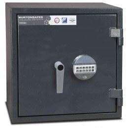 Burton Firesec 10/60 1E Electronic Eurograde 1 Fireproof Safe