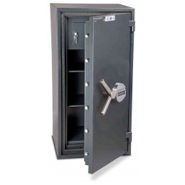 Burton Firesec 10/60 3E Electronic Security Fireproof Safe - door ajar