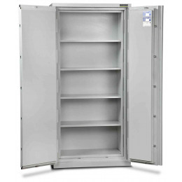 Burton Firesec 10/60/4E Electronic Security Fireproof  Eurograde 1 Cabinet - doors open