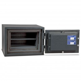 £4000 Cash Security Fire Safe - Burton Firesec 4/60/1K open