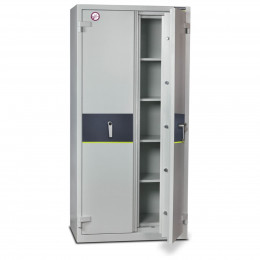Burton Firesec 4/60/4E Electronic Security Fireproof Cabinet - door ajar