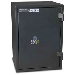 Burton Firesec 4/60 3K Key Locking Fire Security Safe