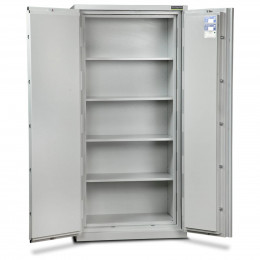 Burton Firesec 10/60/4E Electronic Security Fireproof  Eurograde 1 Cabinet - doors open