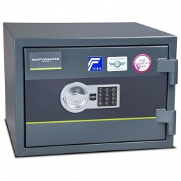 Fire Security Safe £4000 - Burton Firesec 4/60/1E - door closed