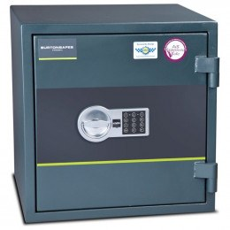 Fire Security Safe £4000 - Burton Firesec 4/60/2E - door closed