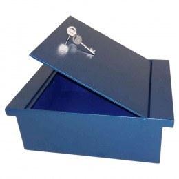 Key Secure A4 Extra Wide Under Floorboard Key Locking Safe - Front Side