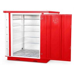 Armorgard Forma-Stor FR200-C Walk-in COSHH Site Store - door open