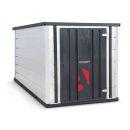 Armorgard Forma-Stor FR400-T Walk-in Security Site Store - face on view