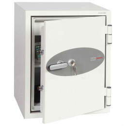 Phoenix Fire Fighter FS0441K 90 minutes Fireproof Safe - door ajar