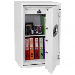 Phoenix Fire Fighter FS0443E 2 hours Fireproof Security Safe - Door open