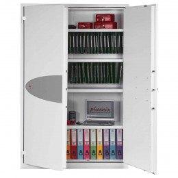 Phoenix FS1514E Fire Ranger Electronic Security Cabinet - 1 door open
