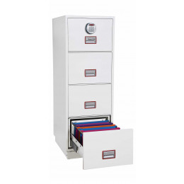 Phoenix Vertical Firefile FS2264E 4-Dr Electronic Filing Cabinet