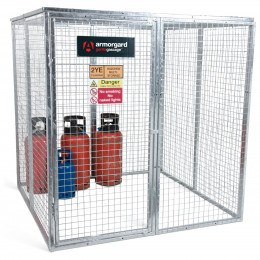 Armorgard GGC9 Gorilla Modular Gas Bottle Cage - Prop