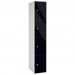 Probe BUZZBOX Four Tier Satin Laminate Overlay Door Locker - Anthracite