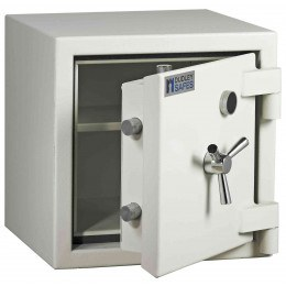 Dudley Europa Eurograde 3 Size 1 Key Lock High Security Safe - ajar