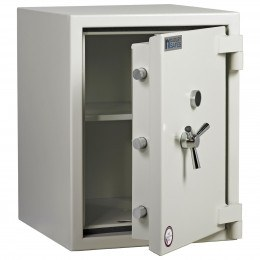 Dudley Europa Eurograde 3 Size 3 Key Lock High Security Safe - ajar