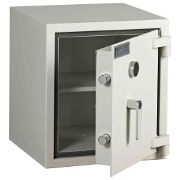 Dudley Harlech Lite S1 Size 1 Insurance Rated Security Safe - door ajar