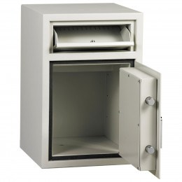 Dudley Hopper CR4000 Size 1 £4000 Cash Deposit Security Safe - door open