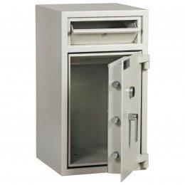 Dudley Hopper CR4000 Size 2 £4000 Cash Deposit Security Safe - door ajar