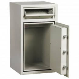 Dudley Hopper CR3000 Size 2 £3000 Cash Deposit Security Safe - door open
