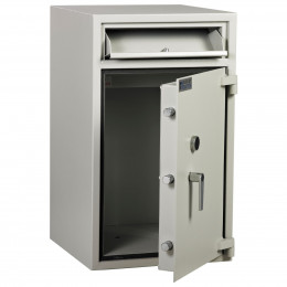 Dudley Hopper CR3000 Size 3 £3000 Cash Deposit Security Safe - door ajar