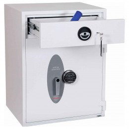 Police Approved £10,000 Cash Deposit Safe - Phoenix Diamond HS1192ED Electronic - Drawer Open