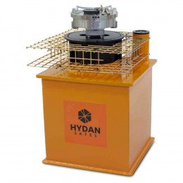 "Hydan Aston £17,500 Rated 12"" Round Door Floor Safe - Door open"