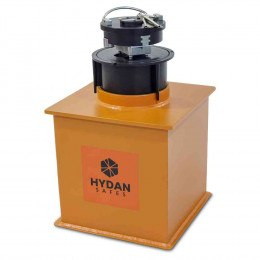 "Hydan Knight Size 2 £6000 Rated 12"" Round Door Floor Safe with door open"