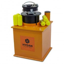 "Hydan Knight Deposit £6000 Rated 12"" Round Door Floor Safe"