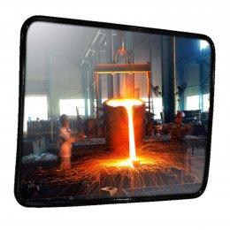 Heat Resistant Stainless Steel Mirror - Dancop 45x60cm