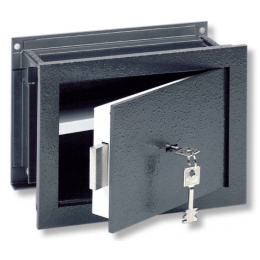 Wall Security Safe - Burg Wachter Size 1 Karat Key Locking