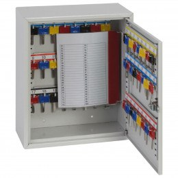 Phoenix KC0301E fully open showing adjustable hook bars  key tabs, key rings and number labels
