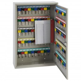 Phoenix KC0302E fully open showing adjustable hook bars key tabs, key rings and number labels