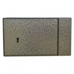 Key Secure KS2 Brick Wall Fixed Security Safe - closed