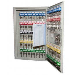 Key Secure KS100DMD Deep Cabinet Mechanical Digital 100 Keys - Door open